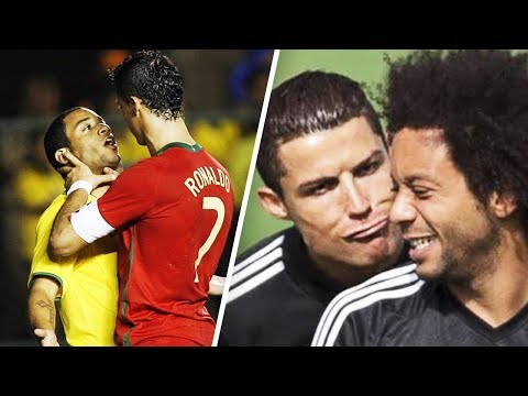 When Marcelo cried because of Cristiano Ronaldo - Oh My Goal