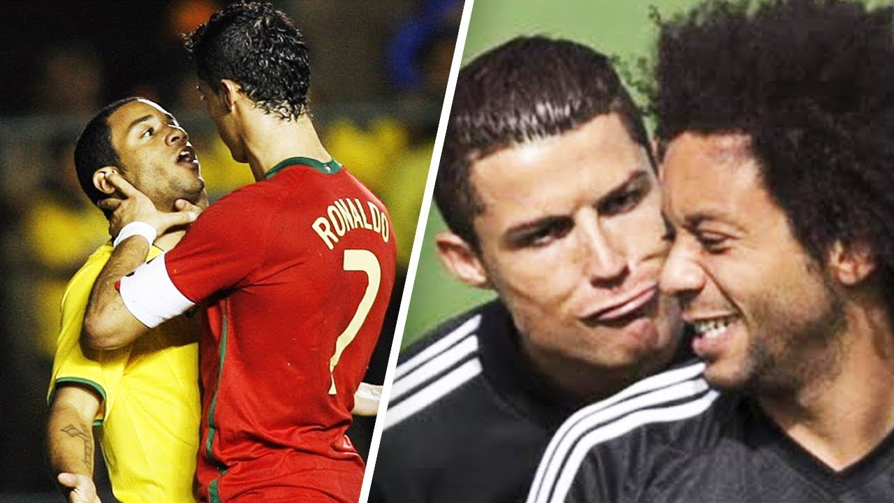 When Marcelo Cried Because Of Cristiano Ronaldo Oh My Goal Youtube