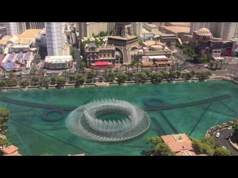 Las Vegas Attractions Fountains of Bellagio Water Show