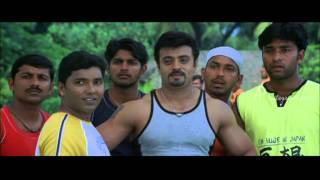 Speed Track Malayalam Movie | Malayalam Movie | Riyaz(Tinu) Unable to Beat Dileep in High Jump
