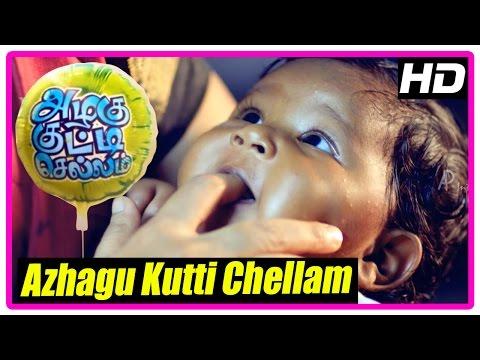 Azhagu Kutti Chellam Movie | Scenes | Azhagu Kutti Chellam Song | Riythvika gets pregnant | Akhil