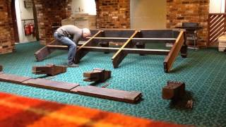 Time Lapse Snooker Table Assembly