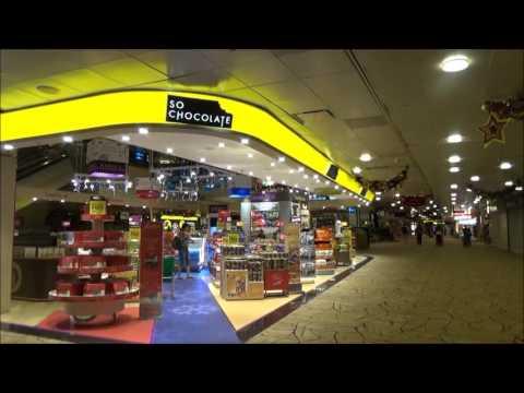 CHANGI AIRPORT MIDNIGHT WALK T1-T2-T3 チャンギ国際空港ターミナル回遊