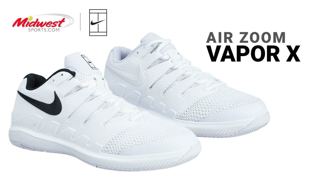 308e1cfde Nike Air Zoom Vapor X Tennis Shoe. Midwest Sports