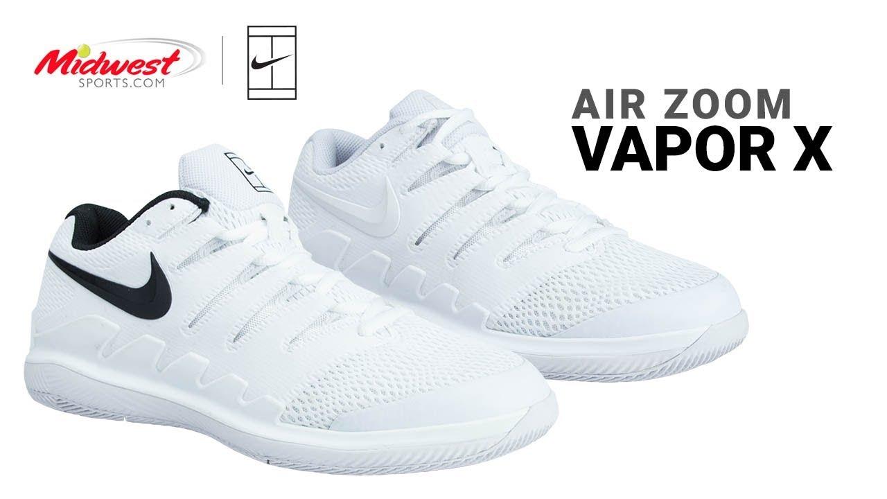 timeless design 6f1e9 949f0 Nike Air Zoom Vapor X Tennis Shoe