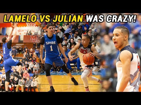 LaMelo Ball vs Julian Newman Got CRAZY!!! LaMelo Gets TRIPLE DOUBLE In BIG DUB 🔥