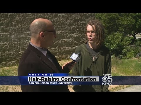 Interview With Dreadlocked Man On Viral Video Of SFSU Confrontation Over His Hair