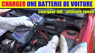 lidl chargeur de batterie ultimate speed ulg 12 test charge rapide voiture battery charger