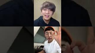 201231 유키스 수현 인스타 라방 (+훈) Soohyun's IG Live with Hoon