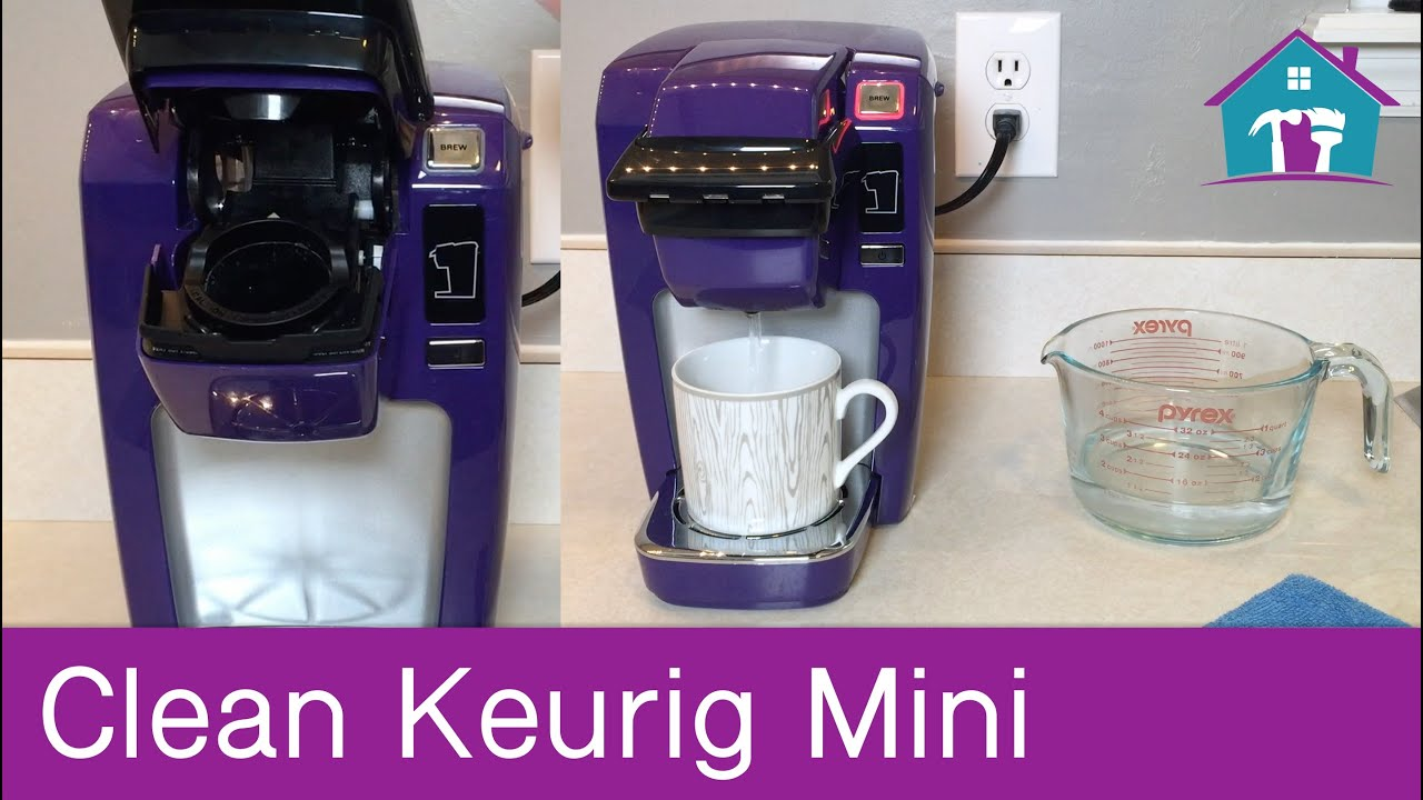 How To Clean Keurig Mini Youtube