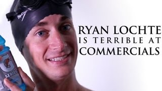 Ryan Lochte Is Terrible At Commercials