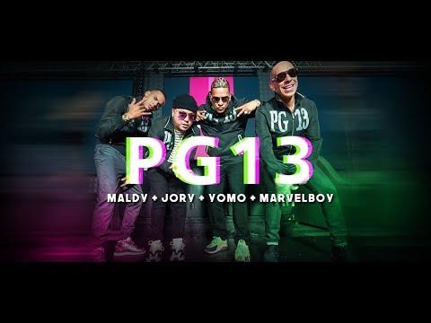 Download Maldy + Yomo & Jory Boy & Marvel Boy - PG 13 [Album Sicalipsis]