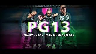 Смотреть клип Maldy X Yomo X Jory Boy X Marvel Boy - Pg 13