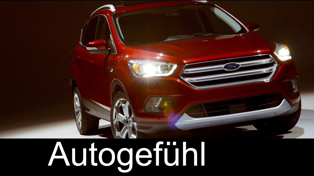 2017 new ford escape kuga titanium facelift exterior interior autogef hl youtube. Black Bedroom Furniture Sets. Home Design Ideas