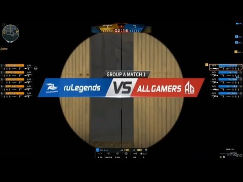 CFS2016 ALL Game vs ruLegends A Group Day1 Map Port