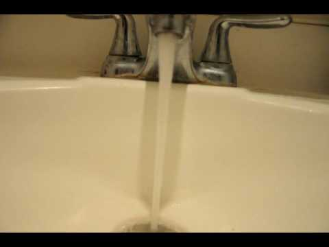 Bathroom Faucet Keeps Running water running faucet - youtube