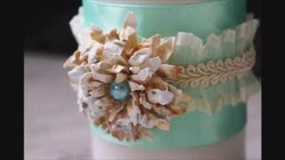 Как сделать объемный цветок из бумаги своими руками МК. Скрапбукинг(, 2016-06-07T10:01:55.000Z)