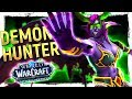 FUN OR NOT? The DEMON HUNTER: Battle for Azeroth 8.0 Class Review [Havoc & Vengeance]