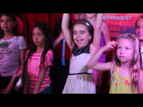 Ava's 8th Birthday Singing Happy Birthday Cake Karaoke