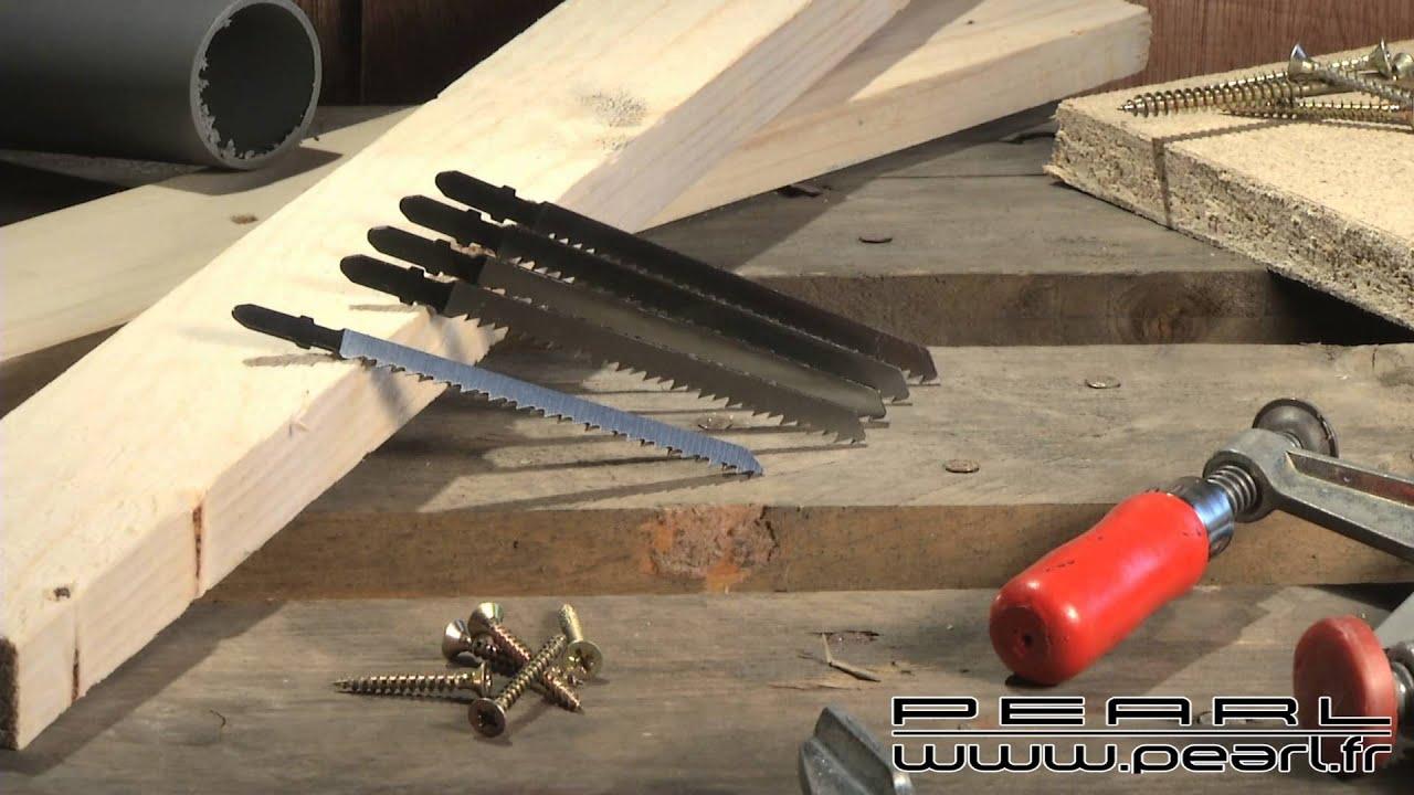 nx5193 set de 5 lames bois pour scie sauteuse agt aw 18. Black Bedroom Furniture Sets. Home Design Ideas