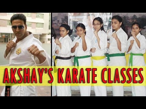Akshay Kumar To Start Martial Arts School For Women