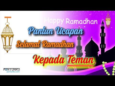 Pantun Ucapan selamat Menyambut Puasa Ramadhan 2021 Kepada Teman