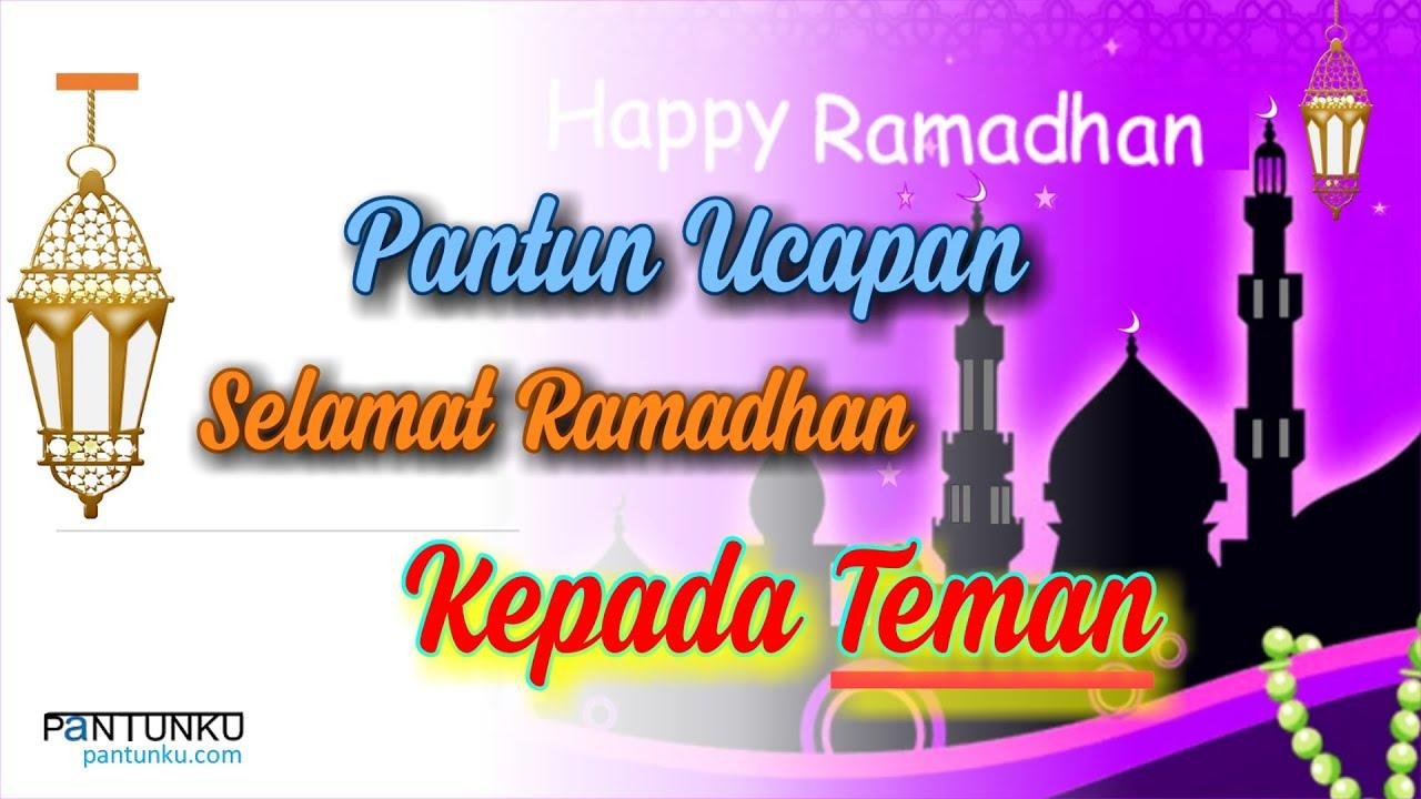 Pantun Ucapan Selamat Ramadhan Kepada Kekasih Grup Wa Pantun