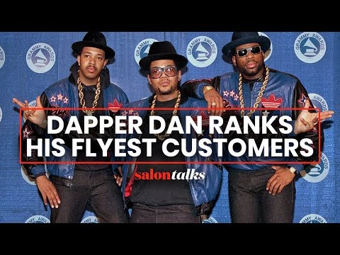 Hip-hop fashion icon Dapper Dan reveals his most stylish customers