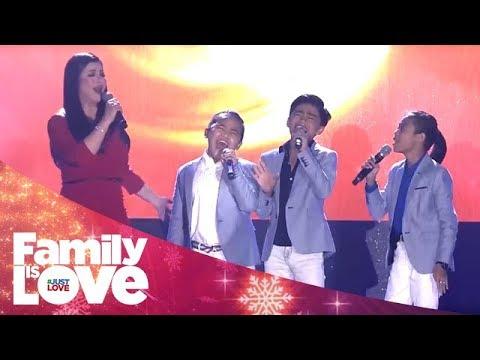 Family Is Love Trade Launch: Regine Velasquez & TNT Boys sing 'Dadalhin'
