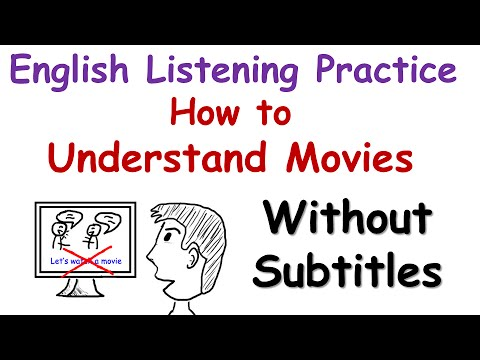 English Listening Practice: How to Understand Movies Without Subtitles