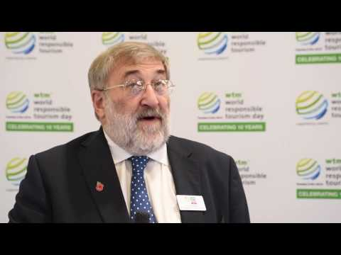 Harold Goodwin talks Responsible Tourism at WTM London 2016