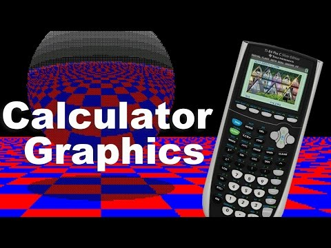 3d Graphics on a Calculator