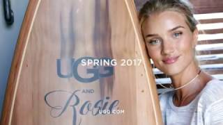 UGG x Rosie Huntington-Whiteley Spring-summer 2017.
