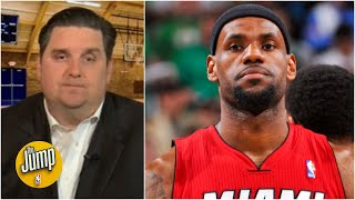 Witnessing LeBron's greatest game: Brian Windhorst on his favorite conference final game | The Jump