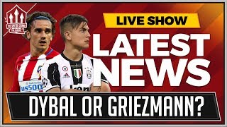 DYBALA or GRIEZMANN To MANCHESTER UNITED? Man Utd News thumbnail
