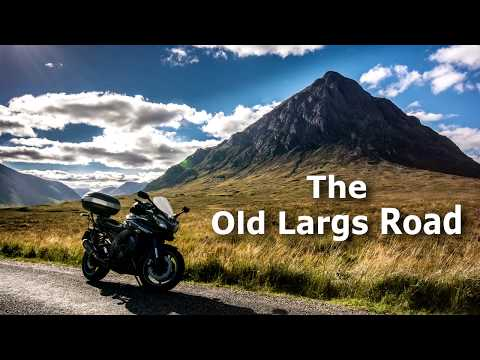 Scotland by Motorcycle: The Old Largs Road (Closed)