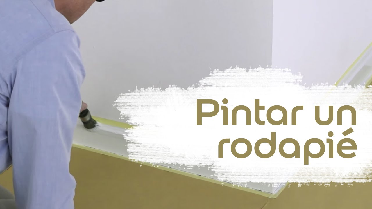 V deo tutorial c mo pintar un rodapi bruguer youtube for Como pintar puertas placas nuevas