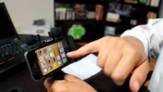 Fostex AR--4i: Para grabar mejor sonido con iPhone