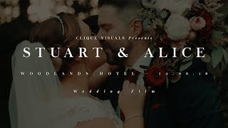 Stuart and Alice // Woodlands Hotel // 14.09.19 // Wedding Film