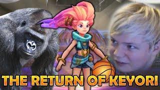 League with friends #4: THE RETURN OF KEYORI