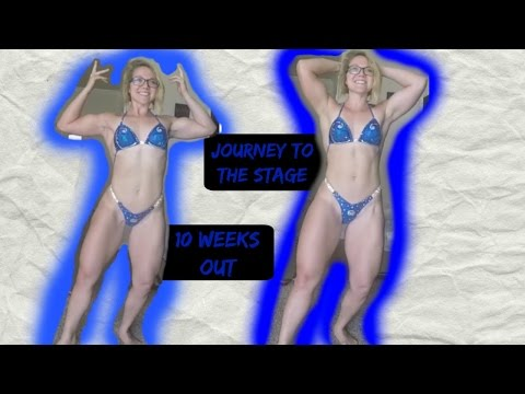 JTTS EP. 17: IIFYM COMPETITION PREP - 10 WEEKS OUT - STAYING POSITIVE