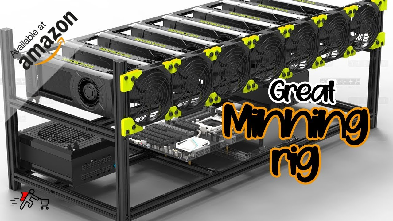 Buid Your onw minning rig at available on amazon over $1700 | Setup for minning al bitcoins