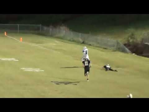 Hatton High School 99 yard touchdown endzone