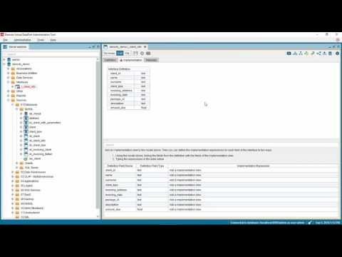 Implementing an Interface View