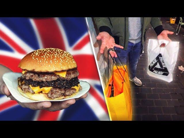 TESTAR EN AV VÄRLDENS BÄSTA BURGARE I LONDON! (Shopping, gym etc)