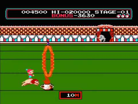 Nes Circus Charlie 1986 Youtube