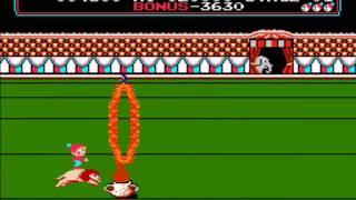 Nes - Circus Charlie (1986)