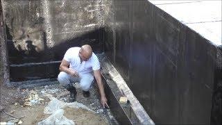 видео Как правильно сделать гидроизоляцию фундамента своими руками