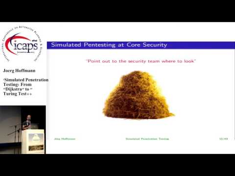 """ICAPS 2015: """"Simulated Penetration Testing: From """"Dijkstra"""" to """"Turing Test++"""""""""""