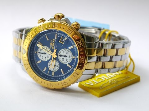 Invicta 18851 Aviator Two Tone Watch